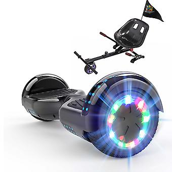 Right Choice Hoverboard Christmas Gift for kids-LED Wheels-Bluetooth Speakers with Adjustable Hoverkart Anti-shock