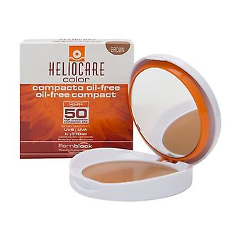 Compact color oil-free spf50 brown 10 g of powder