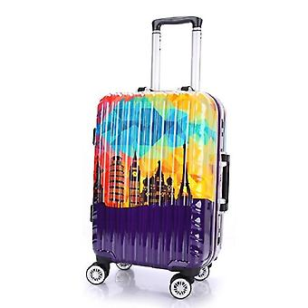 Aluminum Frame Luggage Pc Spinner Travel Bag/rolling Luggage