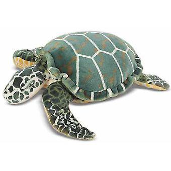 Melissa & Doug Sea Turtle gigant udstoppede dyr