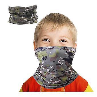 Kinder Bandanas Hals Gaiter Halbgesicht Mehrzweck-Sicherheitsfilter Anti-Staub
