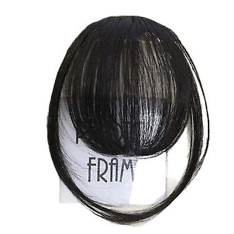 Clip da 6 soldi in hair bangs hairpiece - Clip di bang finti sintetici nei capelli