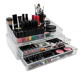 OnDisplay 2-Tier Deluxe Tiered Acrylic Cosmetic/Jewelry Organizer