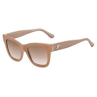 Jimmy Choo Jan/S KON/HA Nude Glitter/Brown Gradient Sunglasses
