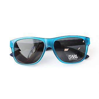 Karl Lagerfeld KL 2 Tone Blue Naisten Muovi UV Shades Sunglasses KS6012 077