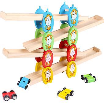 Children's track glider