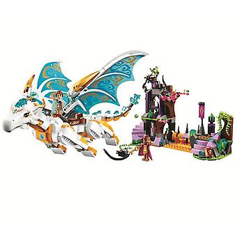 Elves Long After The Rescue Cction Dragon Building Block Bricks (without Box)