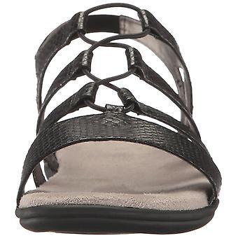 LifeStride Womens Eleanora Open Toe Casual Slingback Sandals