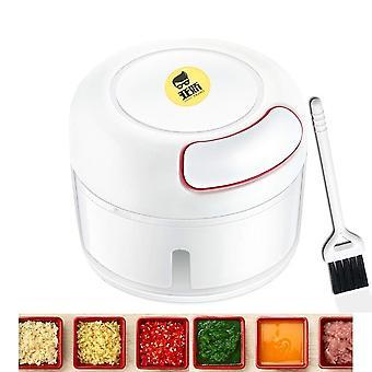 Mini Hand Pull Fleischmühle Mincer Lebensmittel Prozessor Knoblauch Presse Mincer Gemüse