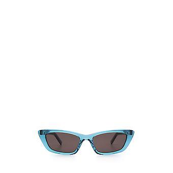 Saint Laurent SL 277 light blue female sunglasses