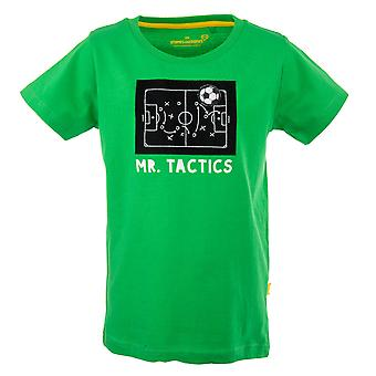 Stones and Bones Boys Tshirt Russell Mr Tactics Green