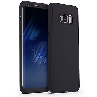 Schokbestendige Hard Shell Case voor Samsung Galaxy S9 + / S9 Plus - Zwart