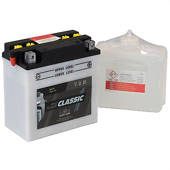 intAct CB9L-A2 Classic Bike-Power Battery With Acid Pack
