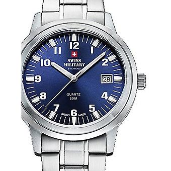 Mens Watch Swiss Military By Chrono SMP36004.08, Quartz, 40mm, 5ATM