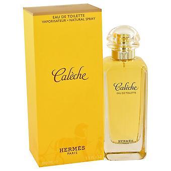 Caleche Eau De Toilette Spray By Hermes 3.4 oz Eau De Toilette Spray