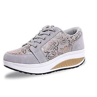 Frauen Toning Schuhe Keil Schlankheitsfitness weibliche Plattform Höhe erhöhen