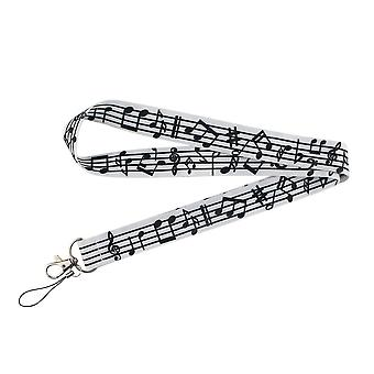 Musical Notes Lanyard For Keys Badge Id, Mobiltelefon