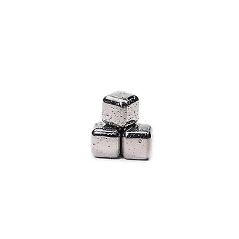 Stainless Steel- Ice Cubes, Reusable Chilling Stones For Whiskey Wine
