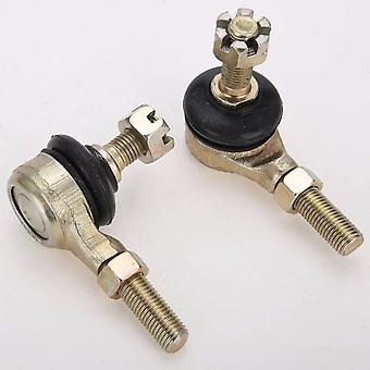 1pair Metal M10 Tie Rod Ball Joint
