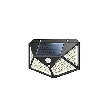 100 Led Solar Outdoor-Beleuchtung Lampe powered Sunlight Wasserdicht Pir Motion