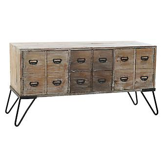 Sideboard Dekodonia Brown Metal Pinewood (135 x 45 x 70 cm)
