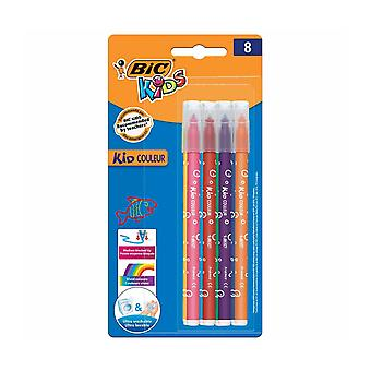 Bic kids couleur felt tip pens pack of 8
