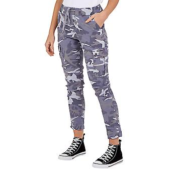 Magic Cargo Camouflage Trousers | Grey