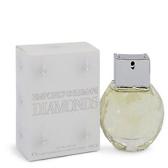 Emporio Armani Diamonds Eau De Parfum Spray By Giorgio Armani 1 oz Eau De Parfum Spray