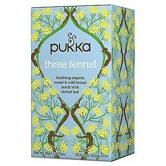 Pukka Bio Tea Three Fennel 20 pcs