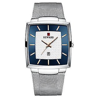 Men's business mesh strap watch quartz waterproof watch mzmw-62009