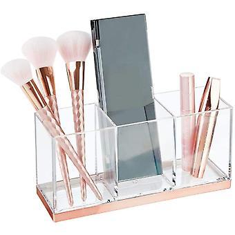Wokex groer Make-up Halter mit 3 Fchern & #8211; praktischer Sortierkasten fr Kosmetik –