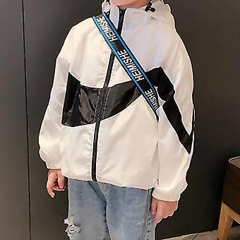 Nuove giacche autunnali con cappuccio per capispalla - Trench per bambini