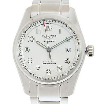 Longines Spirit Automatic Silver Dial Men's Watch L3.810.4.73.6