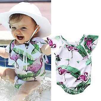 Kleinkind Baby Einteilige Badeanzug Bademode Bikini Beachwear