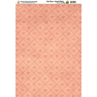 Nitwit Collection - MW Heart Plaid Paper A4 10 Sheets