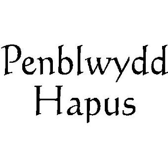 Penblwdd Hapus (Happy Birthday) Wood Mounted Stamp