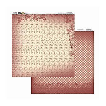 Couture Creations - Petite Blommor 12x12 tum Dubbelsidiga förpackningar med 10 ark
