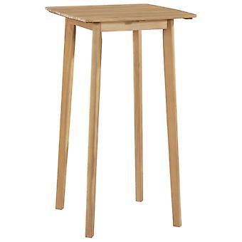 Tavolo bar 60x60x105 Cm Legno solido di Acacia