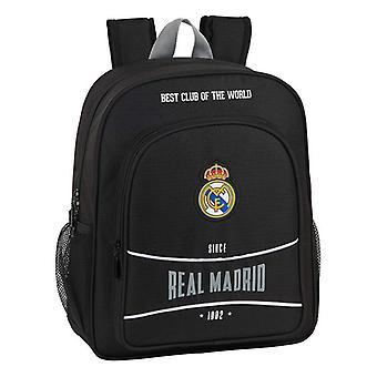 Bolsa escolar Real Madrid C.F. 1902 Negro
