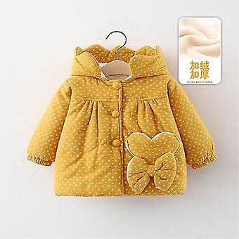 Zimné novorodenca Baby's Oblečenie, Oblečenie Velvet Warm Down Bavlna, Bunda,