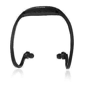 Sport MP3 WMA Music Player TF/ Micro SD Card Slot  Headset Headphone Earphone Black