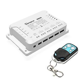 SONOFF 4CH R3/PRO R3 ITEAD RF 433MHz 4-owy przełącznik WiFI