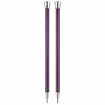 Knitpro Zing: Épingles à tricoter: Simple-Terminé: 30cm x 10.00mm