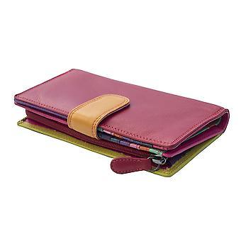 Primehide suuri nahka naisten lompakko RFID esto kukkaro hyvät 6082