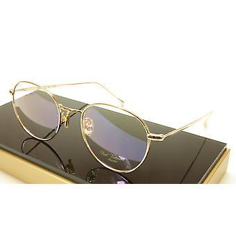 Paul Vosheront PV369 C1 Gold Plated Eyeglasses Frame Italy 49-21-145