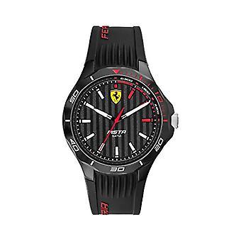Scuderia Ferrari Reloj Analógico Cuarzo Hombre con Correa de Acero Inoxidable 0830780