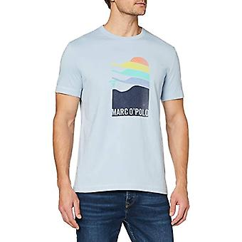 Marc O'Polo 24201651438 Camiseta, Azul (Cashmere Blue 818), XX-Large Men