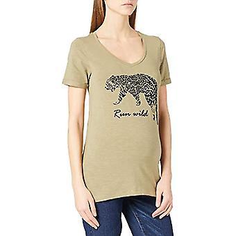Mamalicious MLHANNA S/S Jersey Top A. T-Shirt, Aloe, M Woman
