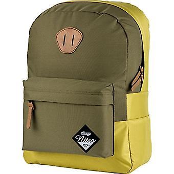 Nitro Urban Classic Casual Backpack, 45 cm, 20 liters, Golden Mud