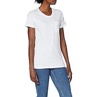 Tommy Jeans Tjw Logo Pocket Tee Shirt, White, XS Woman